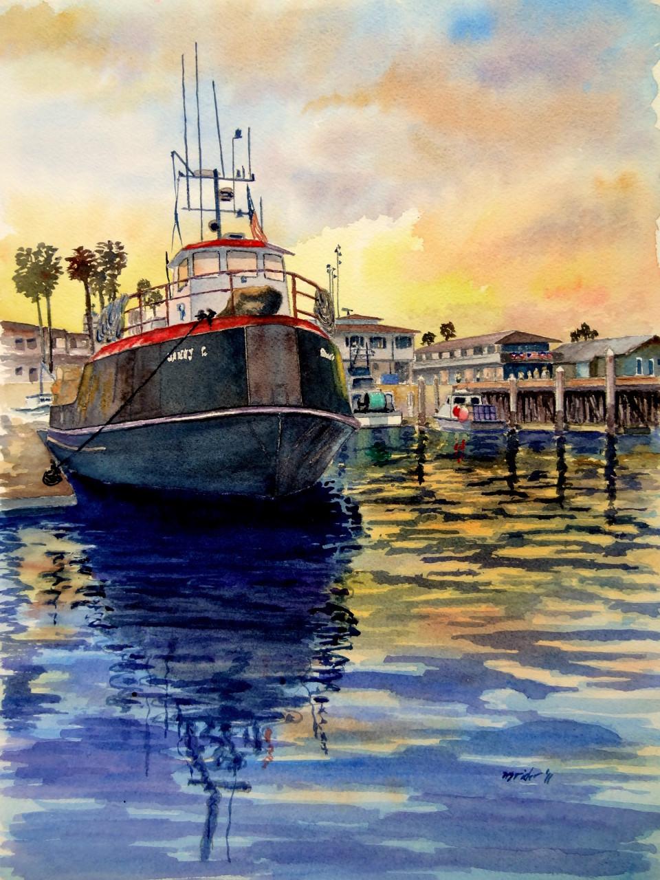 Danny C Sunset Santa Barbara