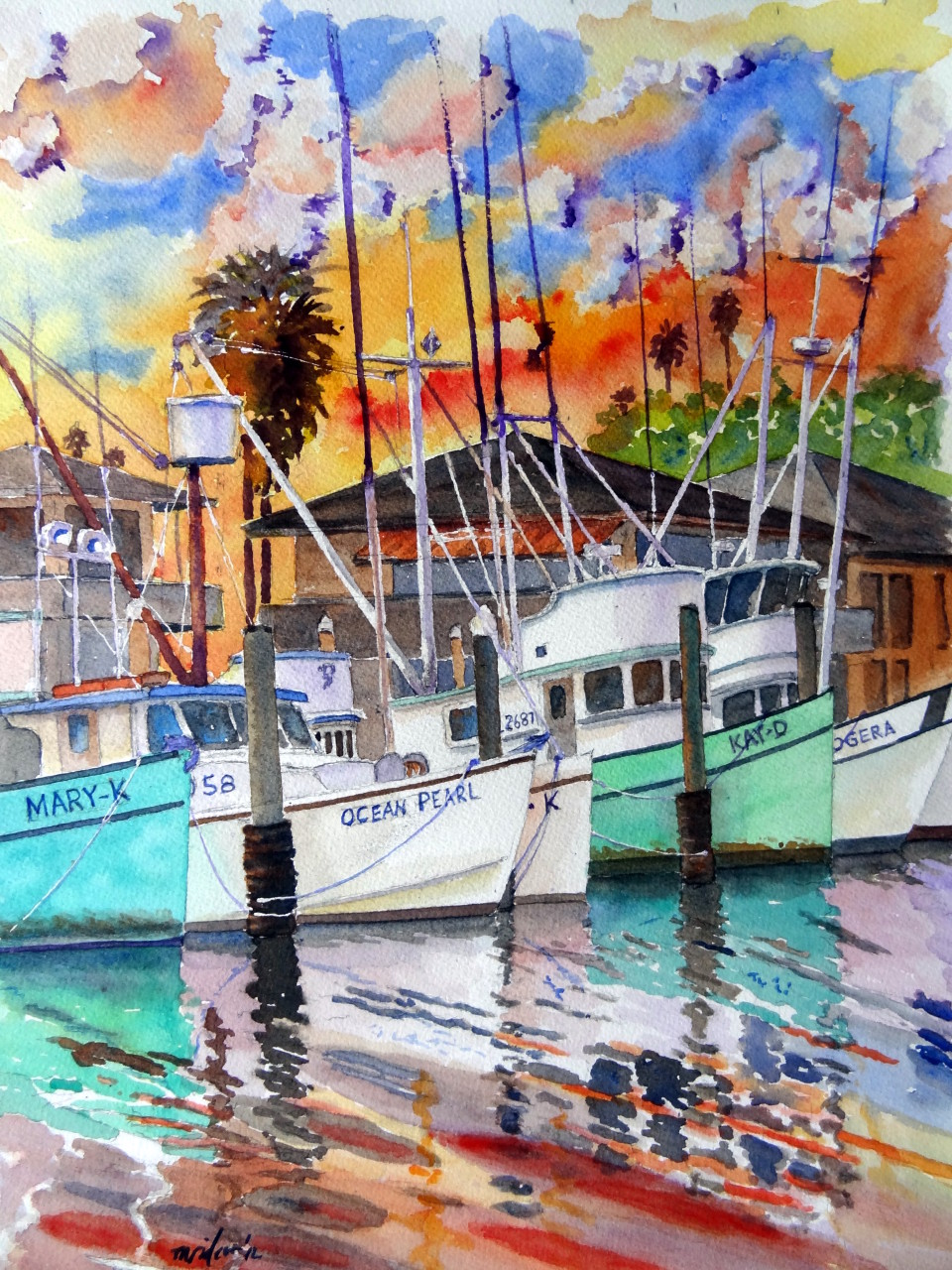 Santa Barbara Fishing Fleet 2