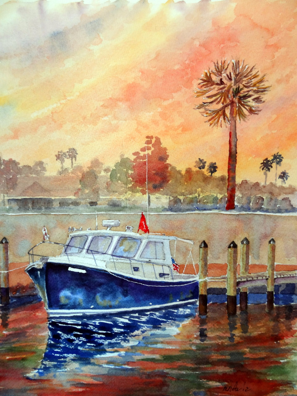 Florida Lobster Boat