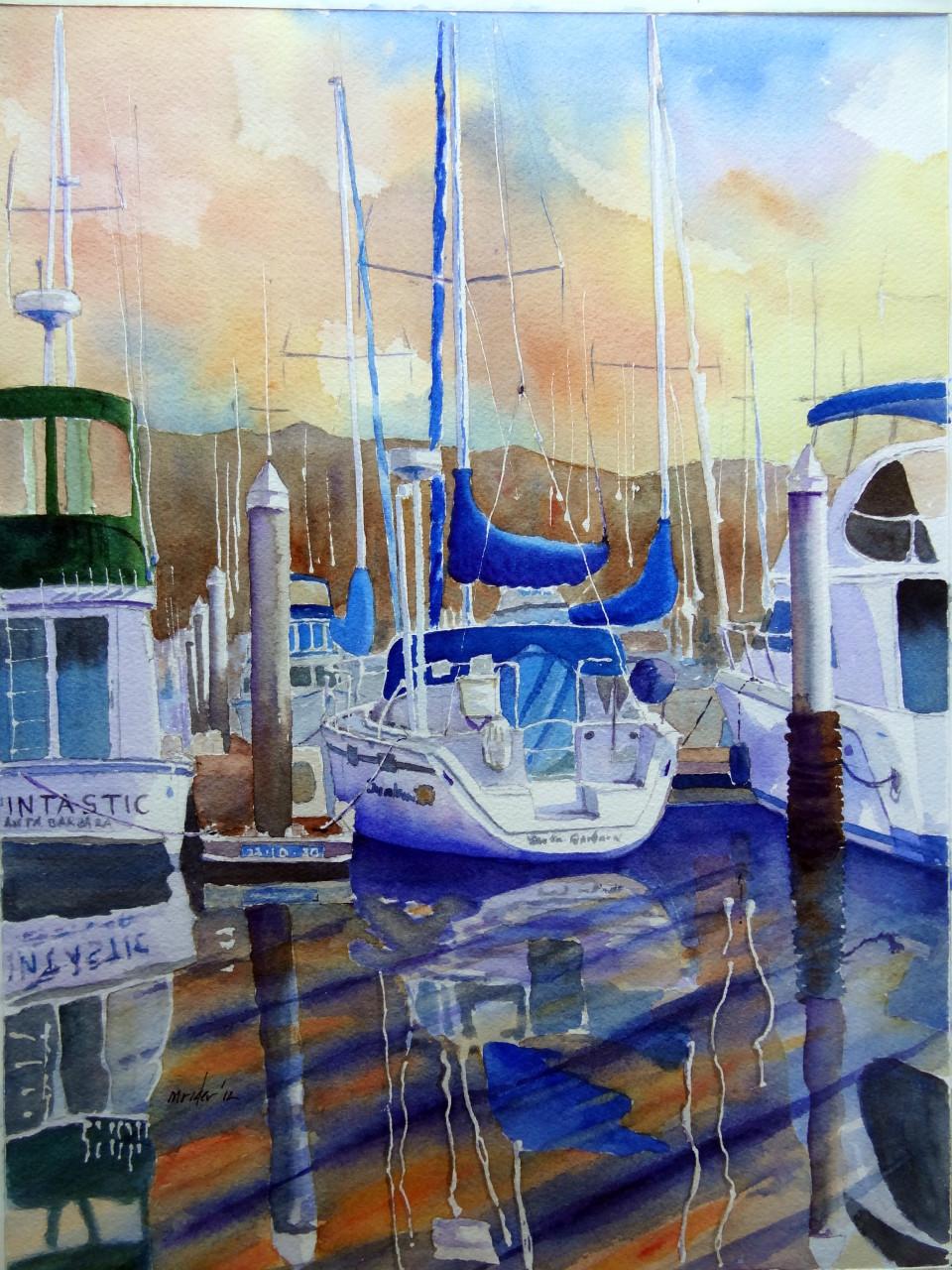 Morning Stillness in Marina 1
