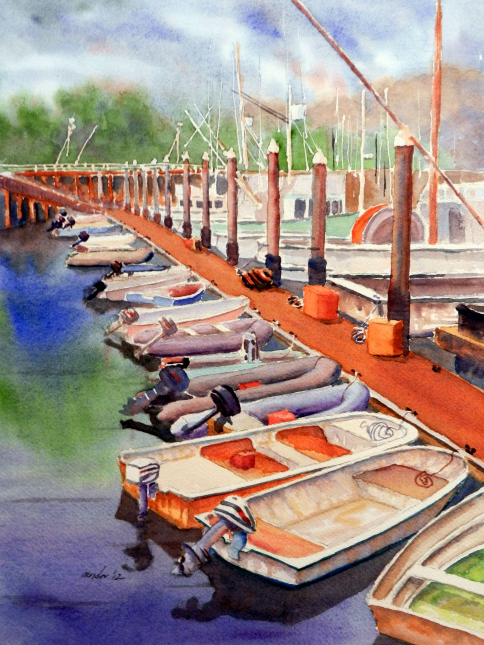 Santa Barbara Dinghy Row