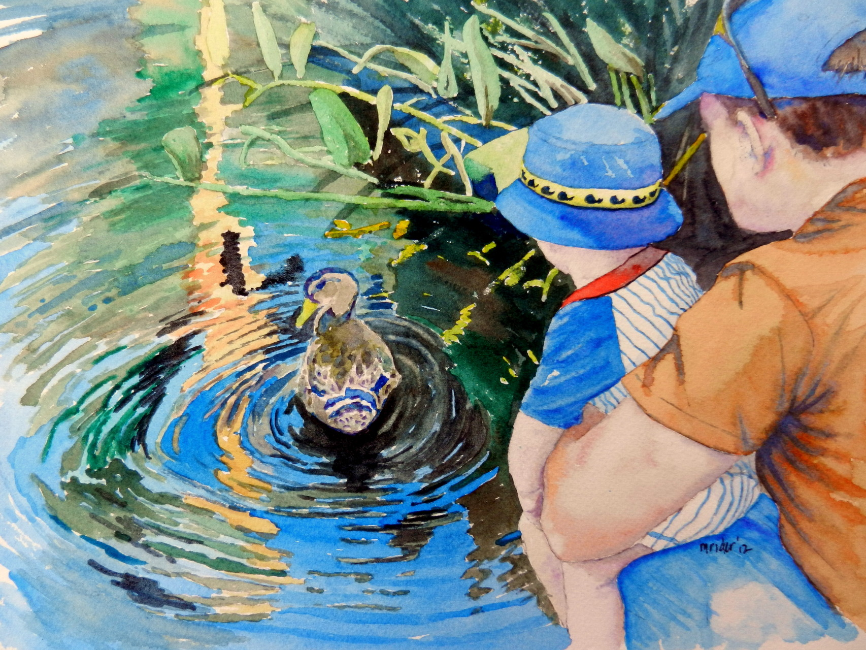 Alice Keck Duck Pond
