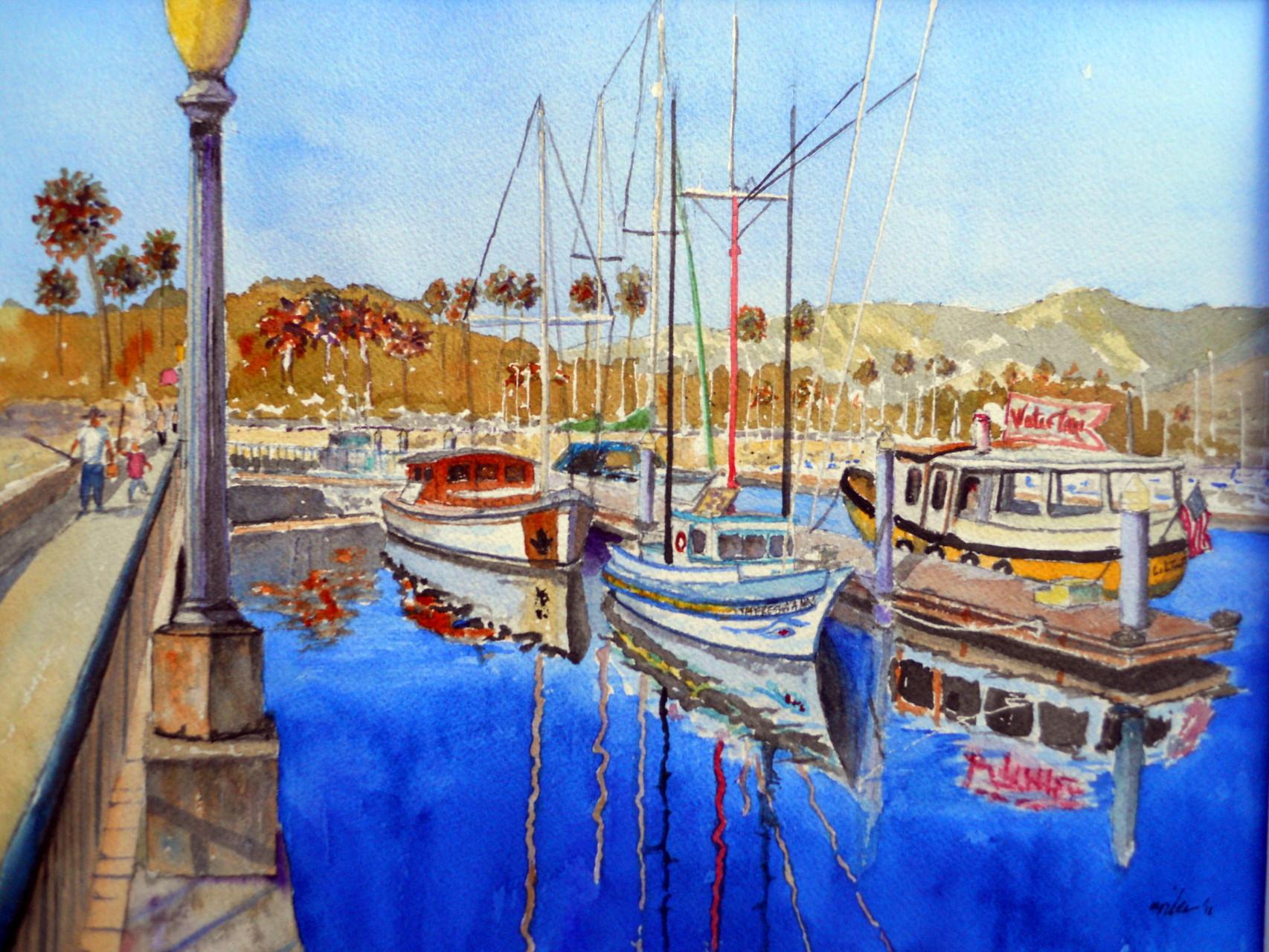 Santa Barbara Harbor Historians