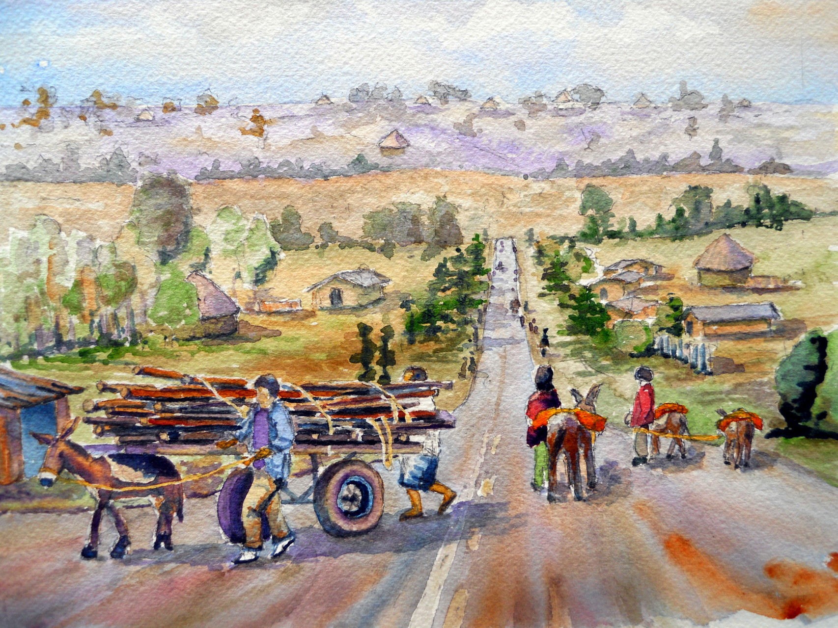 Transportation Near Addis