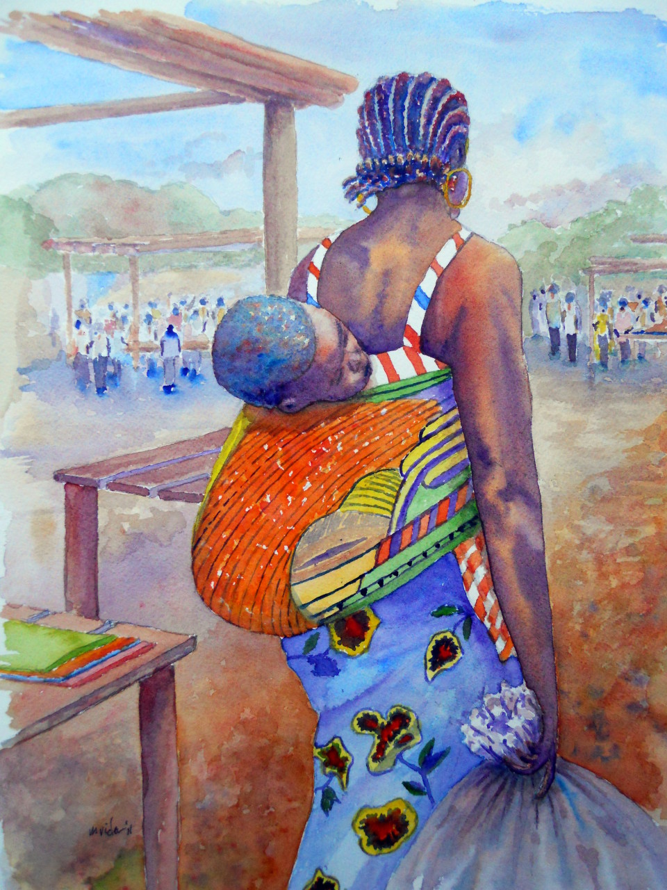 Liberian Market Lady