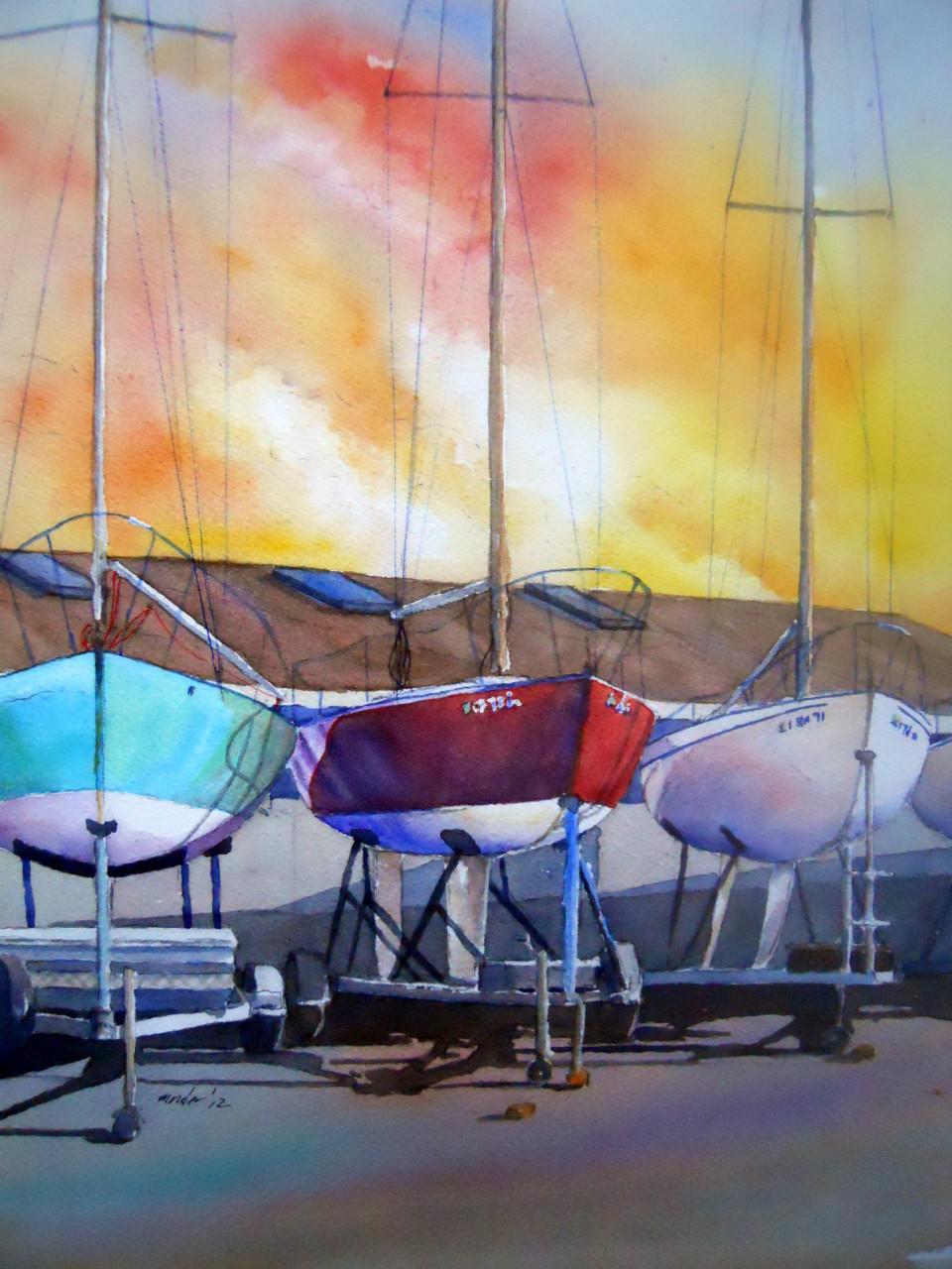 Santa Barbara J Boats