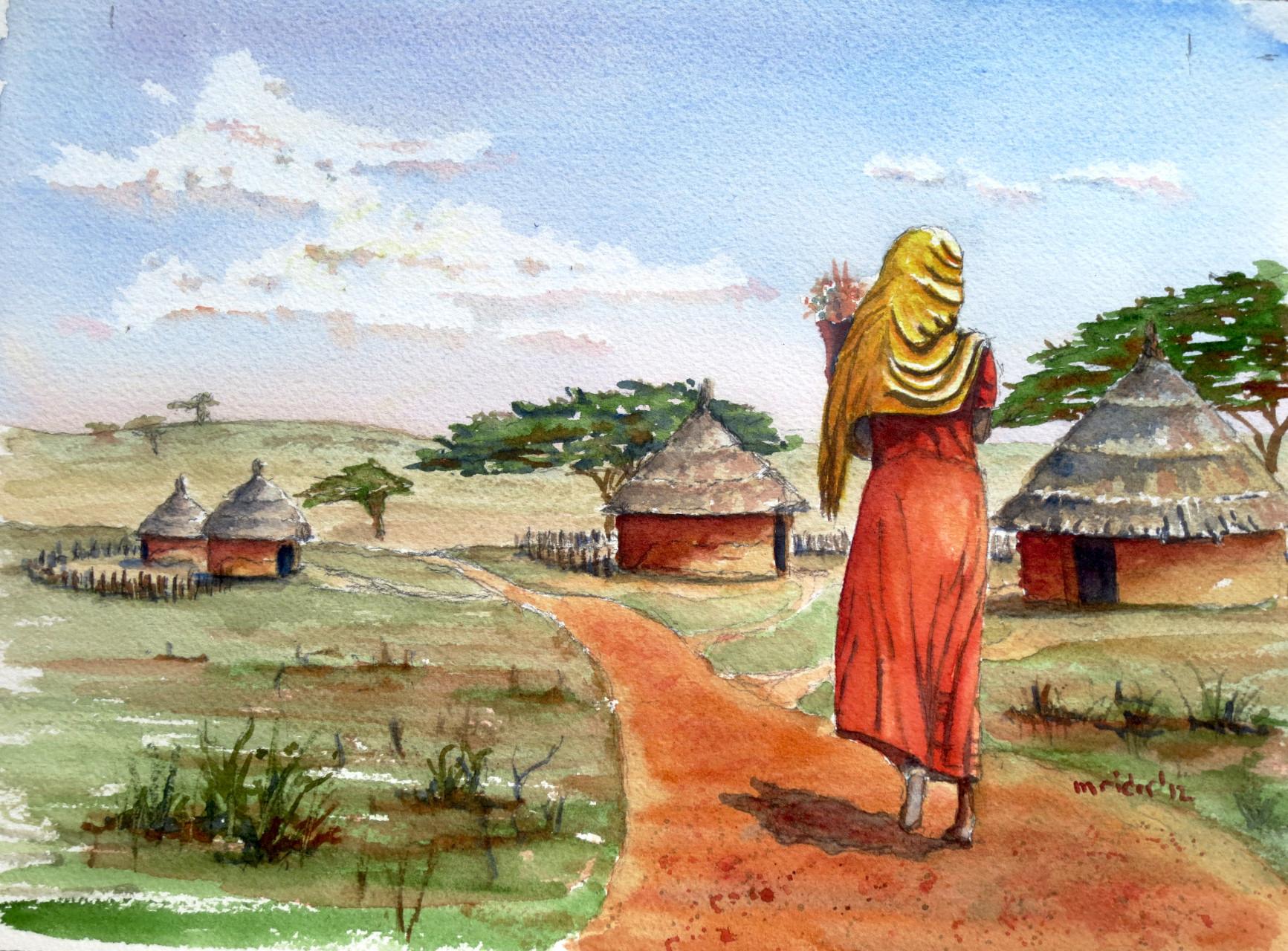 Village Outside Addis