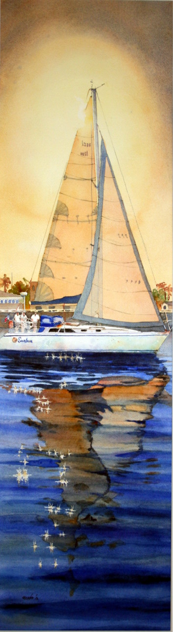 Sunbum Santa Barbara Harbor