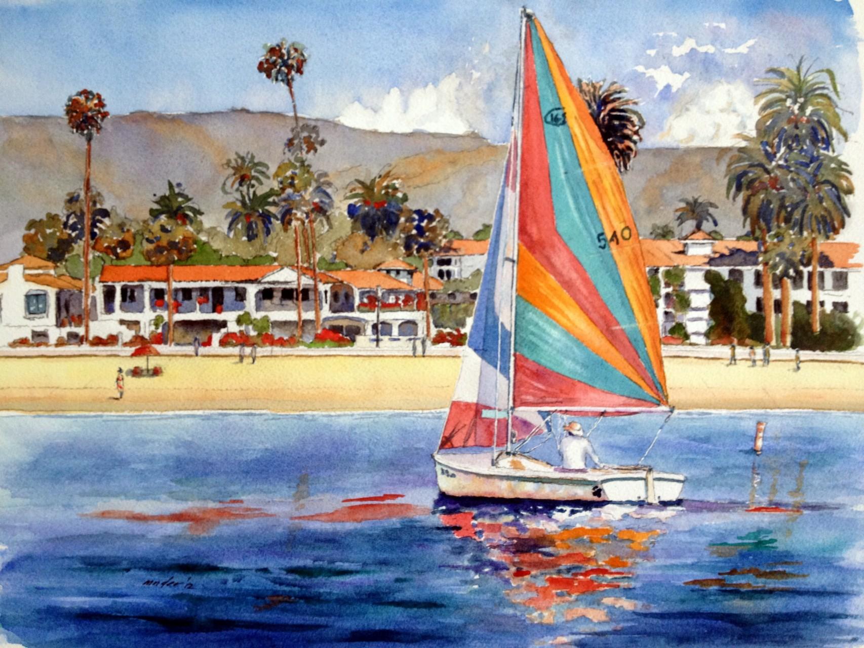 West Beach Sail