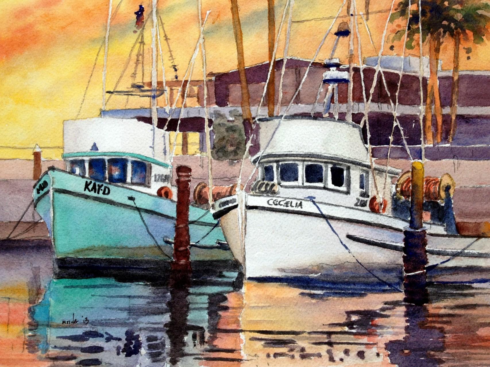 Santa Barbara Fishing Boats