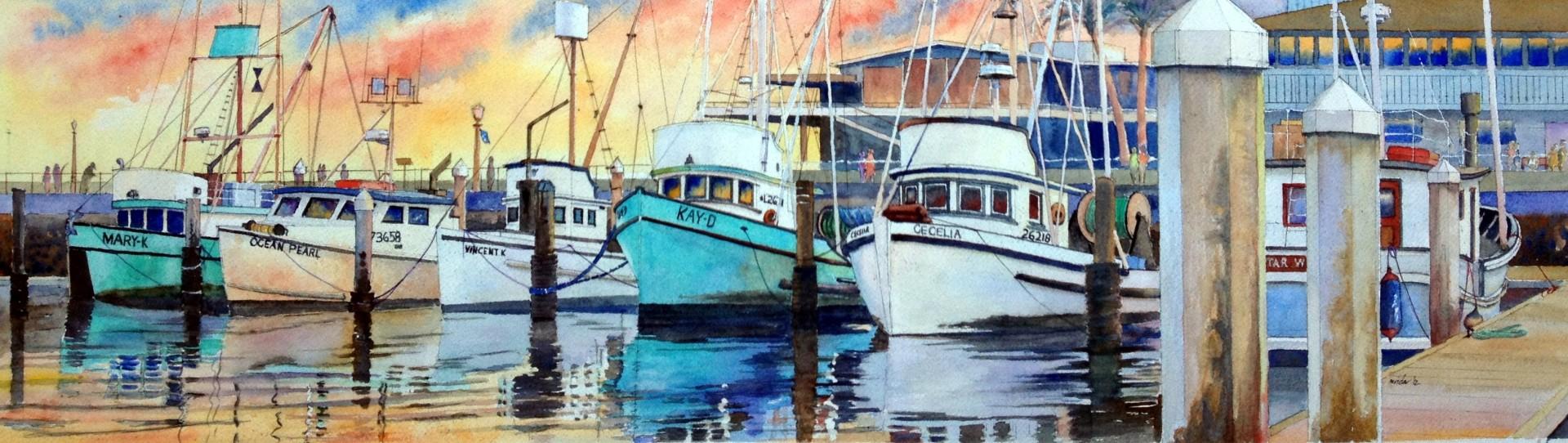 Santa Barbara Fishing Fleet