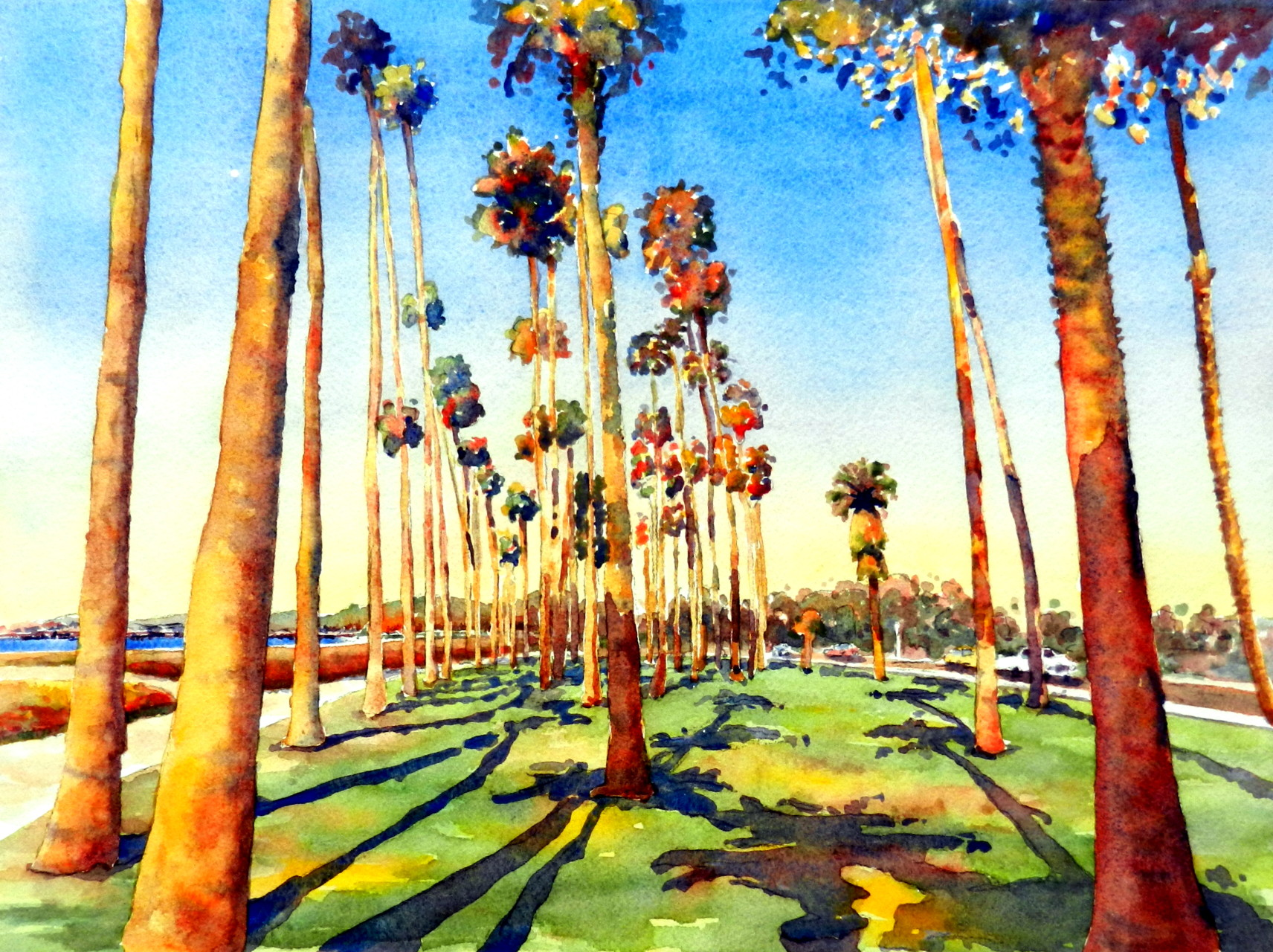 East Beach Palms