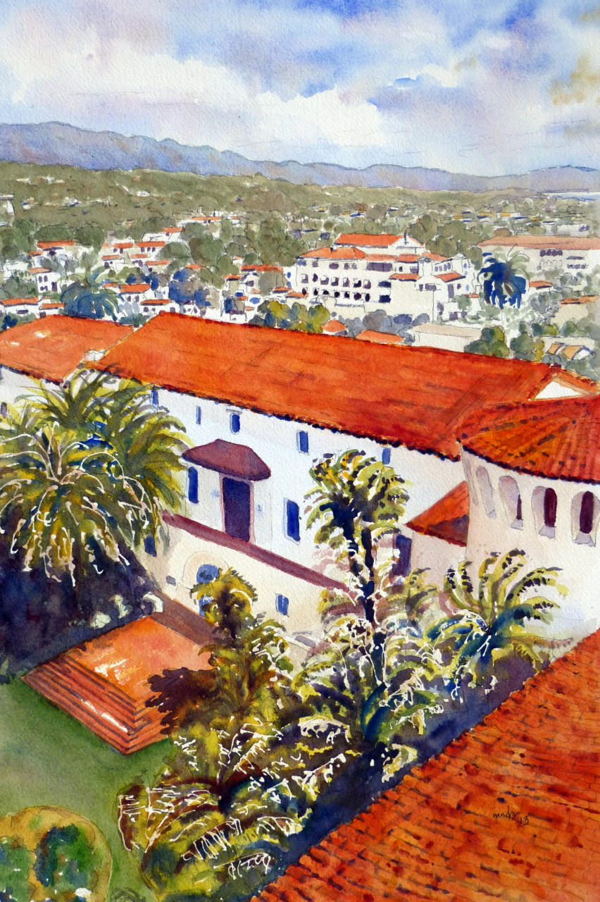 Santa Barbara Courthouse View